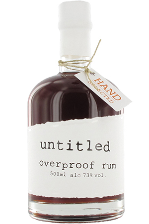 untitled overproof rum
